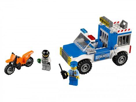 10735 LEGO® Juniors Rendőrségi terepjárós üldözés