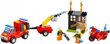 10740 LEGO® Juniors Tűzoltó járőr játékbőrönd