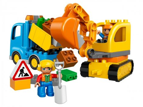 10812 LEGO® DUPLO® Teherautó és lánctalpas exkavátor