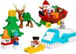 10837 LEGO® DUPLO® Mikulás téli ünnepe