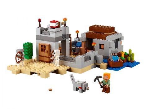 21121 LEGO® Minecraft™ Sivatagi kutatóállomás