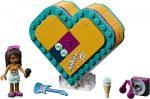 41354 LEGO® Friends Andrea Szív alakú doboza