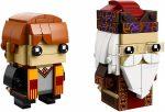 41621 LEGO® Brickheadz Ron Weasley™ és Albus Dumbledore™