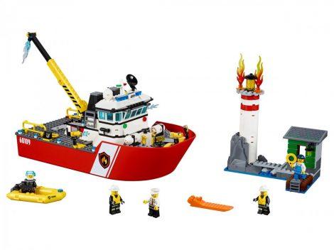 60109 LEGO® City Tûzoltóhajó