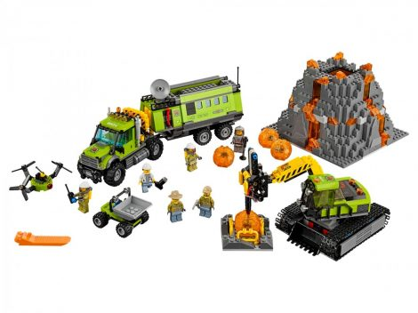 60124 LEGO® City Vulkánkutató bázis