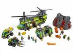 60125 LEGO® City Vulkánkutató teherszállító helikopter
