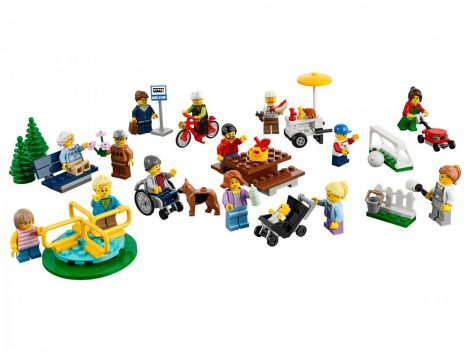 60134 LEGO® City Móka a parkban - City figuracsomag