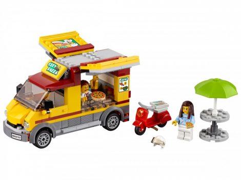 60150 LEGO® City Pizzás furgon
