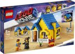 70831 LEGO® The Movie Emmet Álomháza/Mentőrakétája!