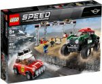 75894 LEGO® Speed Champions 1967 Mini Cooper S Rally és 2018 MINI John Cooper Works Buggy