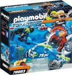 Playmobil 70003 Titkos ügynökök tengeralattjárója