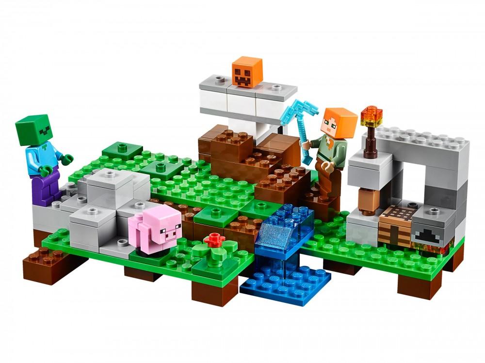 21123 LEGO(R) Minecraft(TM) A vasgólem