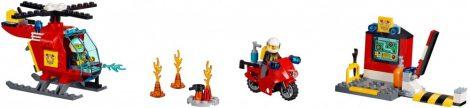 10685 LEGO® Juniors Tűzoltó játékbőrönd