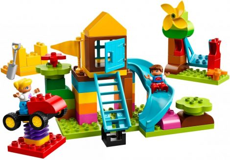 10864 LEGO® DUPLO® Nagy Játszótéri elemtartó doboz