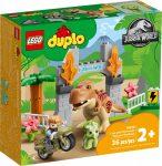 10939 LEGO® DUPLO® T. rex és Triceratops dinoszaurusz szökés