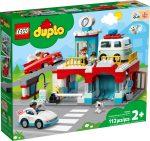 10948 LEGO® DUPLO® Parkolóház és autómosó