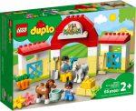 10951 LEGO® DUPLO® Lóistálló és pónigondozás