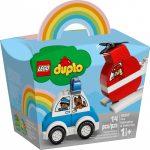 10957 LEGO® DUPLO® Tűzoltó helikopter és rendőrautó