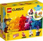 11013 LEGO® Classic Kreatív áttetsző kockák