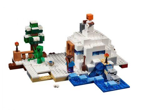 21120 LEGO® Minecraft™ Búvóhely a hóban