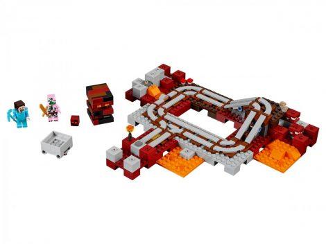 21130 LEGO® Minecraft™ Alvilági vonat