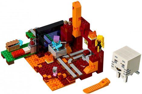 21143 LEGO® Minecraft™ Az Alvilág kapu