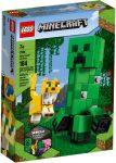 21156 LEGO® Minecraft™ BigFig Creeper™ és Ocelot