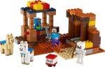 21167 LEGO® Minecraft™ A kereskedelmi állomás