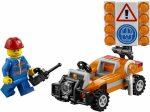 30357 LEGO® City Útépítő munkás