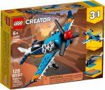 31099 LEGO® Creator 3-in-1 Légcsavaros repülőgép