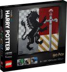 31201 LEGO® ART Harry Potter™ Hogwarts™ címerek