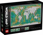 31203 LEGO® Art Világtérkép