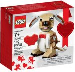 40201 LEGO® Szezonális készletek Valentin Cupid Dog
