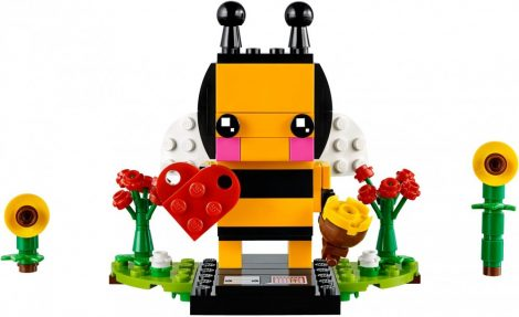 40270 LEGO® Brickheadz Valentin napi méhecske