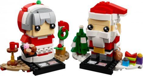 40274 LEGO® BrickHeadz Télapó és Télanyó
