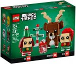 40353 LEGO® BrickHeadz Rénszarvas, Manó és Manólány