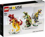 40366 LEGO® Exkluzív LEGO ház dinoszauruszok