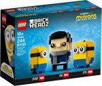 40420 LEGO® Brickheadz Gru, Stuart és Otto