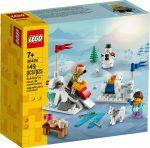 40424 LEGO® Szezonális készletek Téli hógolyózás