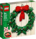 40426 LEGO® Szezonális készletek 2 az 1-ben karácsonyi koszorú