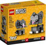 40441 LEGO® Brickheadz Rövidszőrű macskák