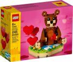 40462 LEGO® Kiegészítők Valentin napi barna maci