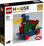 40501 LEGO® Exkluzív Fából készült kacsa
