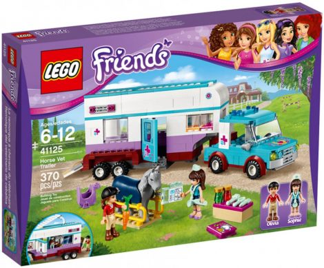 41125 LEGO® Friends Állatorvosi lószállító