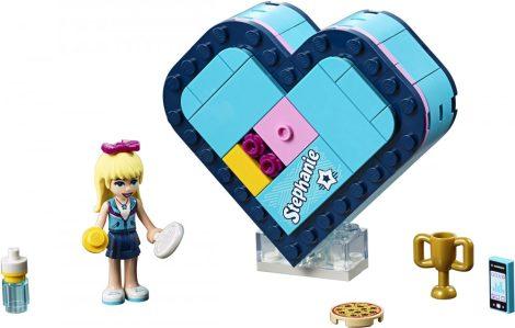 41356 LEGO® Friends Stephanie Szív alakú doboza