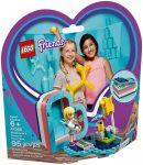 41386 LEGO® Friends Stephanie nyári szív alakú doboza
