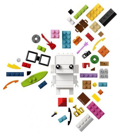 41597 LEGO® BrickHeadz Kockákra fel!