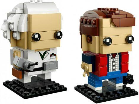 41611 LEGO® Brickheadz Marty McFly & Doc Brown