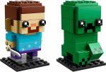 41612 LEGO® BrickHeadz Steve & Creeper™