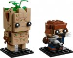 41626 LEGO® BrickHeadz Groot & Rocket